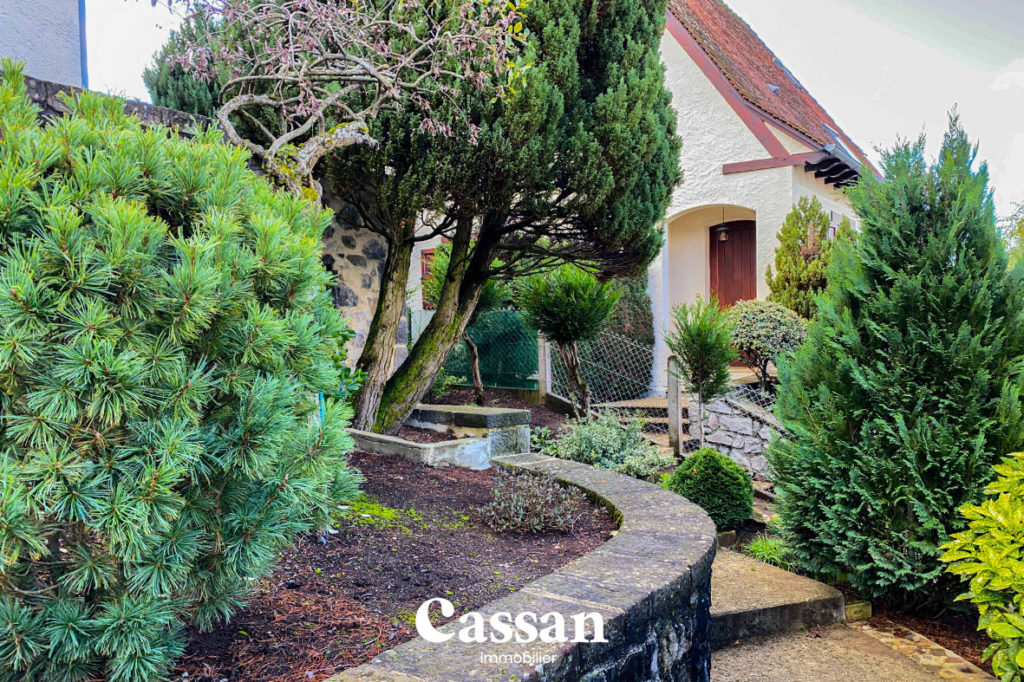 jardin végétalisé