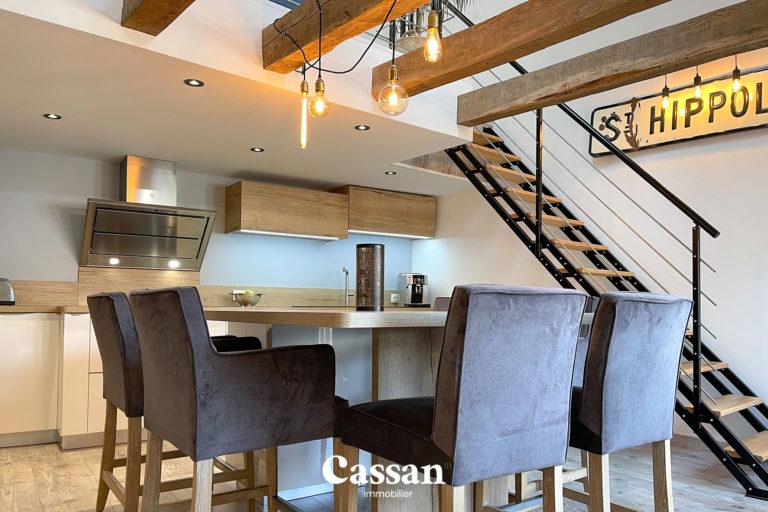 cuisine loft mezzanine