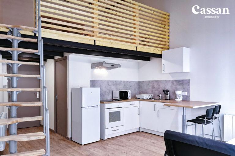 loft cuisine ouverte mezzanine