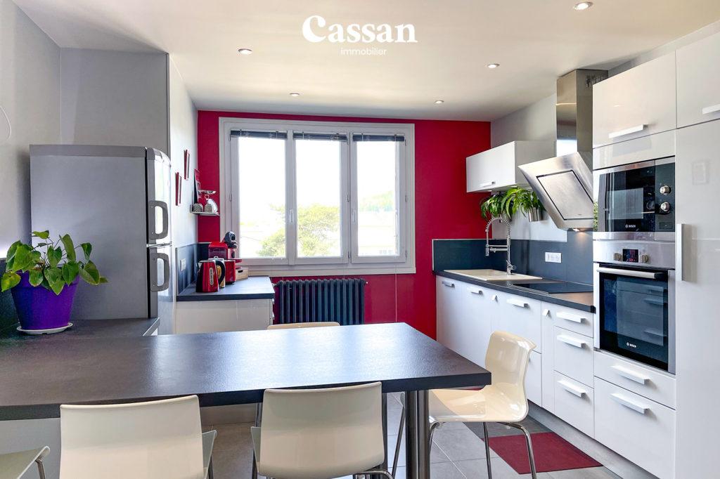 cuisine appartement ilot