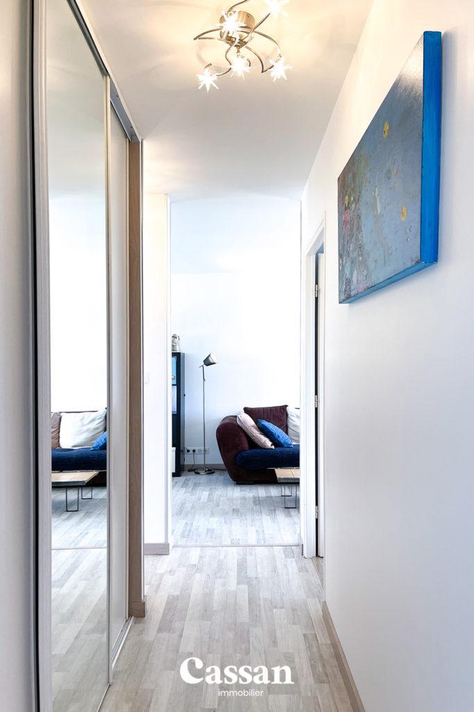 couloir appartement salon