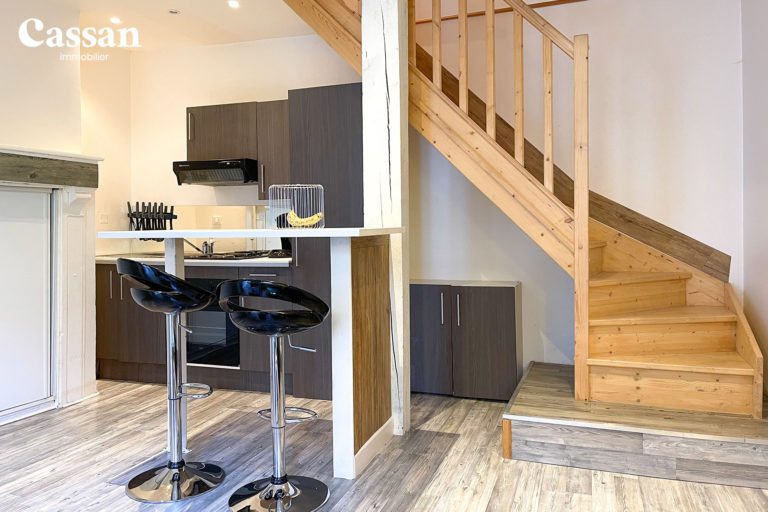 appartement duplex cuisine