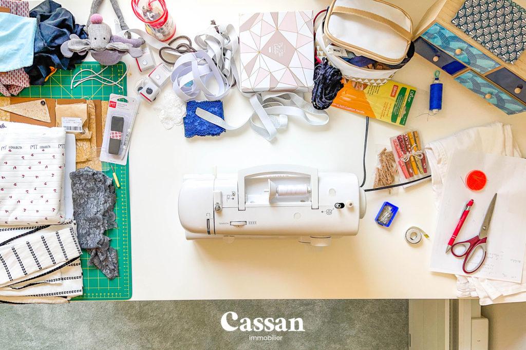 couture tissu moquette manuel