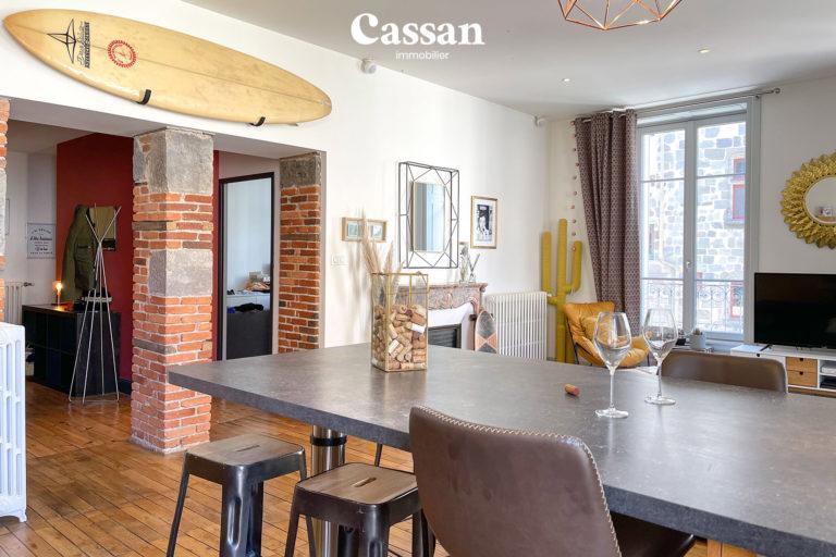 bar appartement briques surf apéro vin