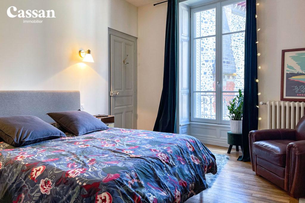 chambre plancher bois appartement