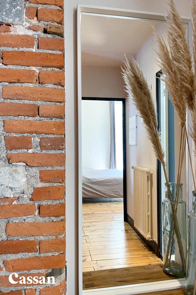 brique plancher bois appartement pampa